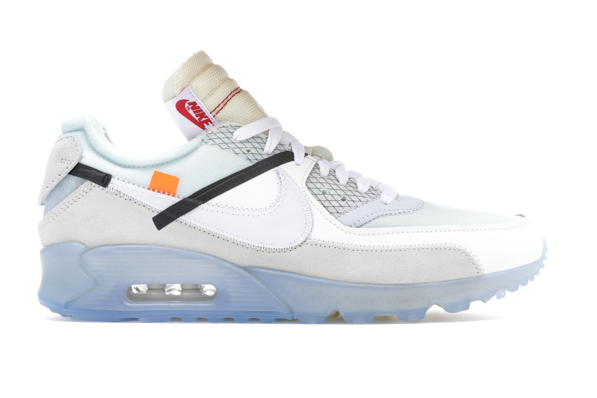 nike off white air max 90